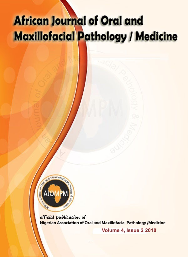 DIAGNOSIS AND PROSTHODONTIC TREATMENT OF A CASE OF
